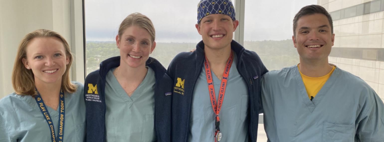 U-M Anesthesiology Chiefs 2020-2021
