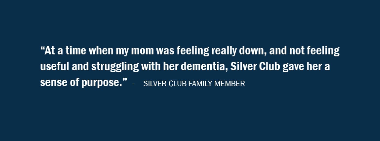 Silver Club Memory Programs quote