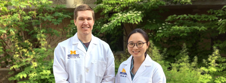 Tom Raisanen, MD and Jiji Ahn, MD
