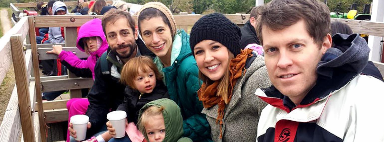 Family hayride