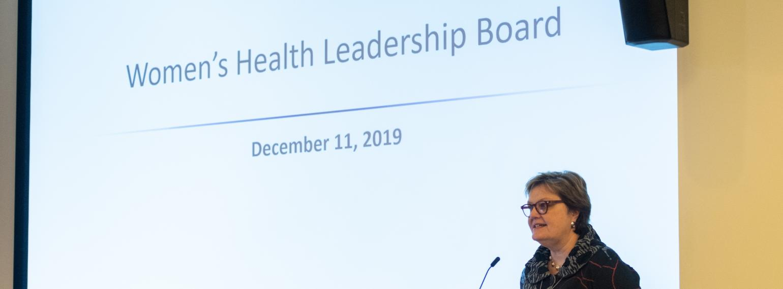 Women's Health Leadership Board 2019_Fenner