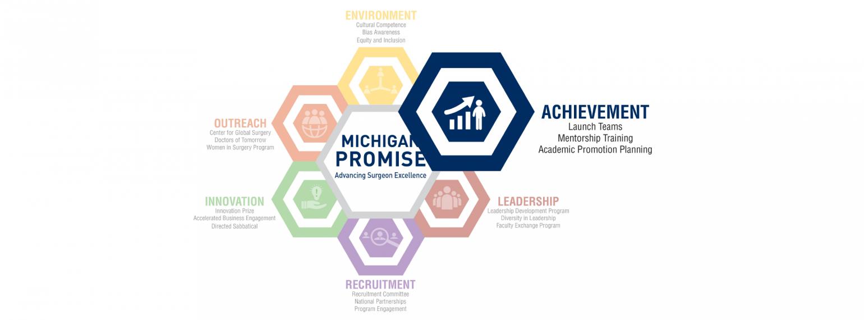 Michigan Promise Logo Achievement Highlight