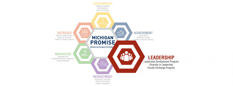 Michigan Promise Logo Leadership Highlight