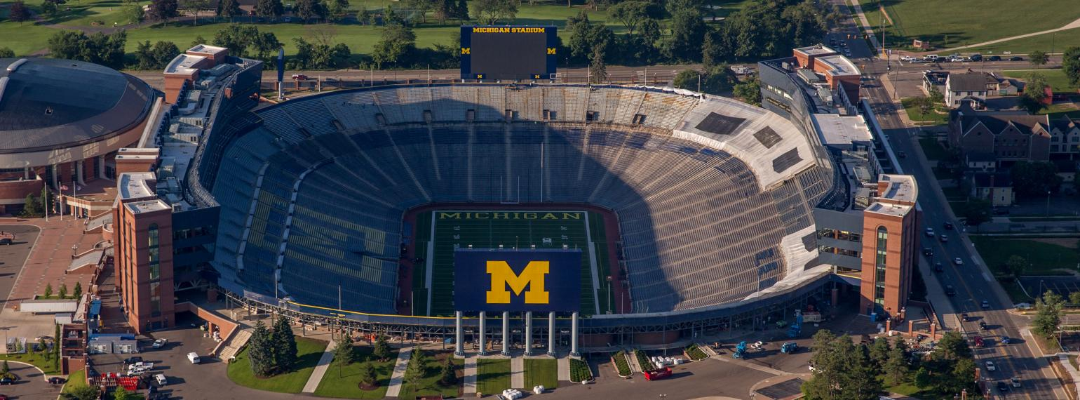 "The University of Michigan Football Stadium - ""The Big House"""