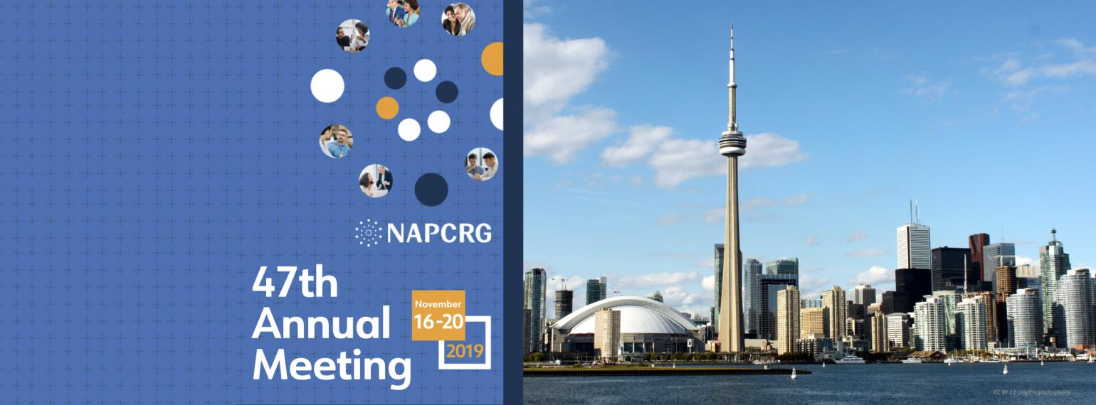 North American Primary Care Research Group meeting 2019 in Toronto Canada