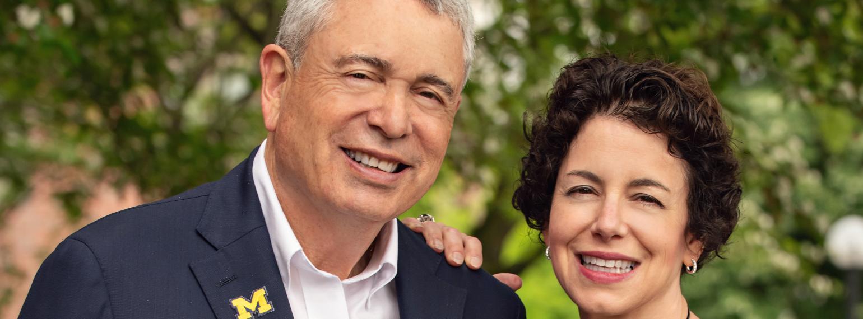 Ron Weiser and Elizabeth Weiser Caswell