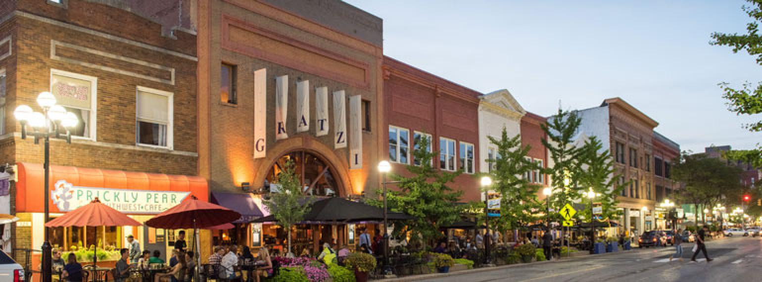 Downtown Ann Arbor restaurants