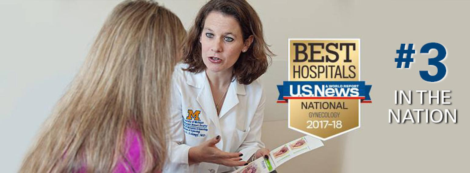 ObGyn ranked 3rd in nation in US News and World Report Rankings