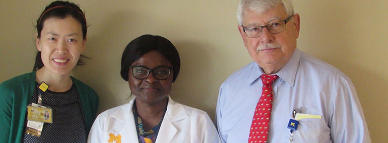 Dr. Grace Wang, Dr. Vera Essuman, Dr. Monte Del Monte