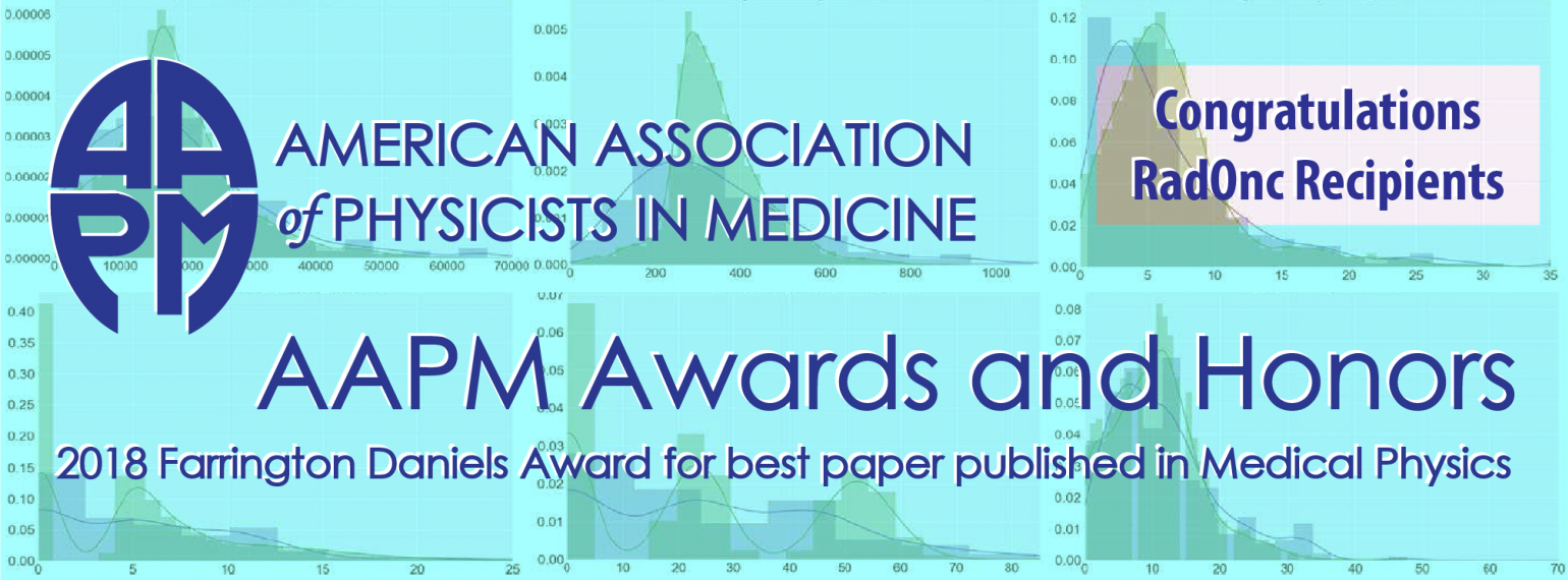 AAPM Farrington Daniels Award