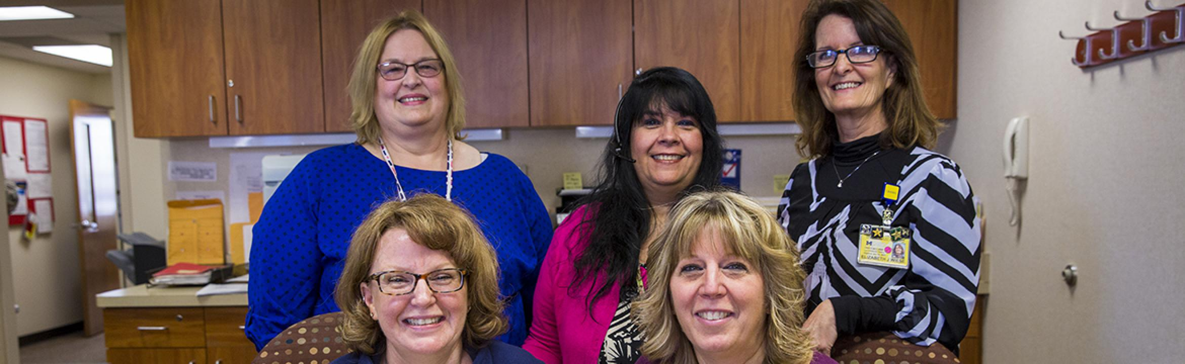 CRM office staff group photo