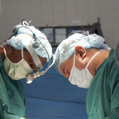 General Surgeons in the Operating Room.