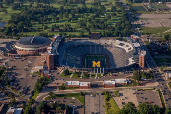 Michigan Stadium Aerial