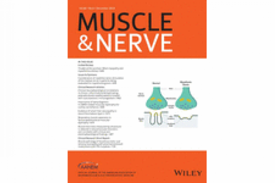 Muscle & Nerve cover December 2019