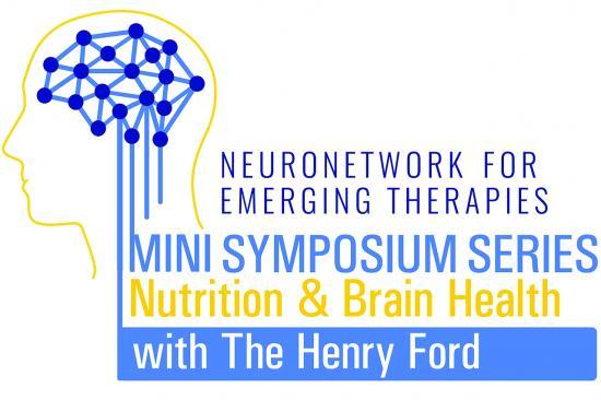 NeuroNetwork for Emerging Therapies Mini Symposium Series: Nutrition & Brain Health Logo