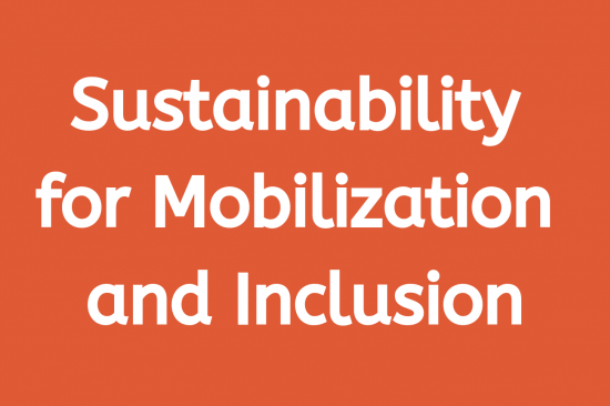 Sustainability for Mobilization and Inclusion Workgroup