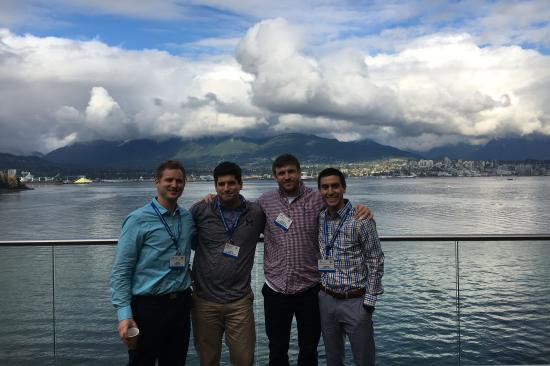 Some of our residents enjoying the scenery in Vancouver, BC during the annual Orthopaedic Trauma Association meeting
