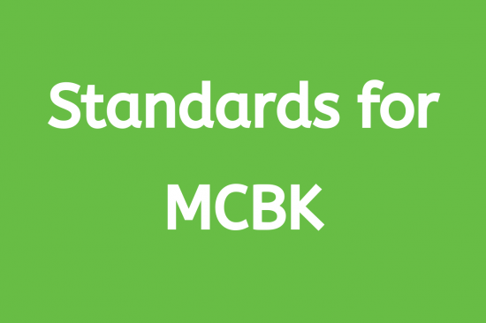 Standards for MCBK Workgroup