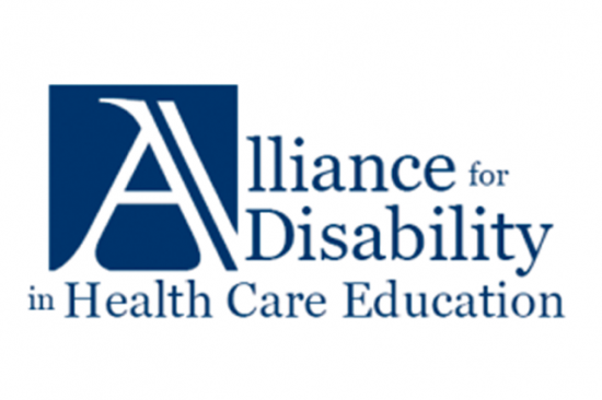 Alliance for Disability in Health Care Education Logo