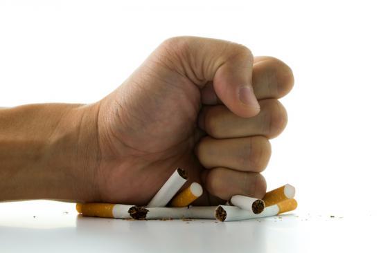 cigarette crushing