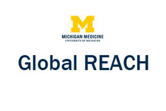 UMMS Global REACH logo