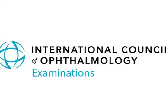 International Council of Ophthalmology Examinations logo