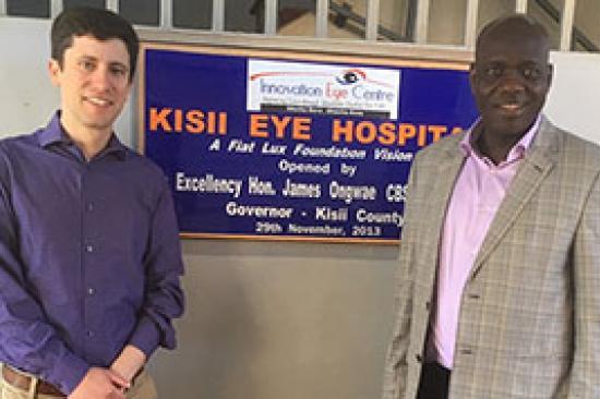 Dr. Joshua Ehrlich in Kenya