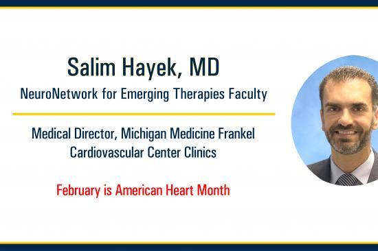 Dr. Hayek on Heart and Brain Health