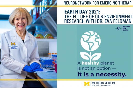 Cover photo for Dr. Eva Feldman's Earth Day 2021 message video