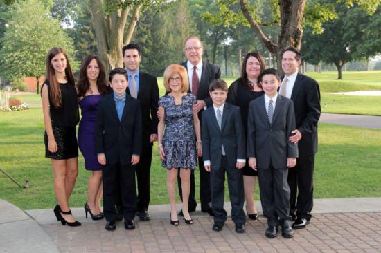 Portrait of the Shaevsky family