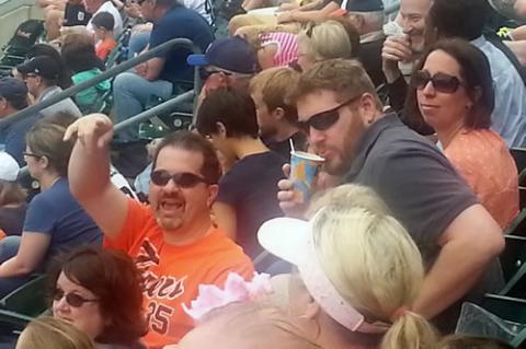 DCMB Tigers Baseball Outing