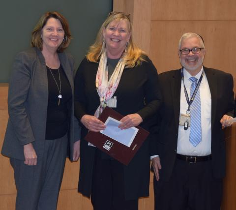 Linda Grosh, Beth Theros, Ed Hurvitz Trailblazer Awards