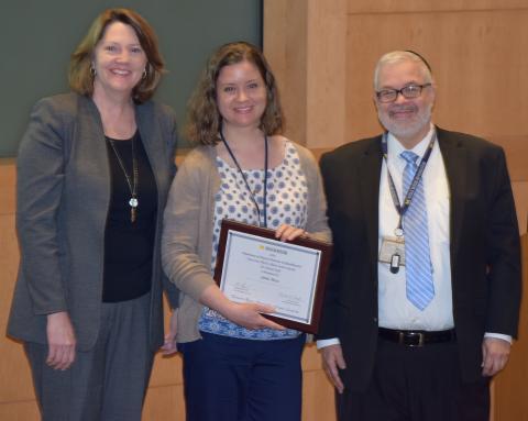 Linda Grosh, Jamie Mayo, Ed Hurvitz Trail Blazer Award