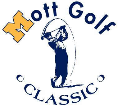 a logo for Mott Golf Classic