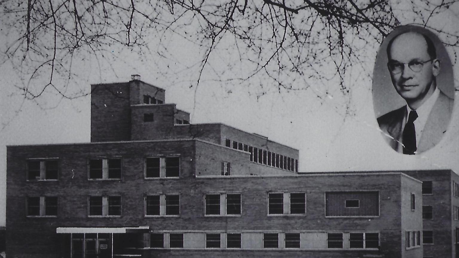 Old University Hospital South Entrance