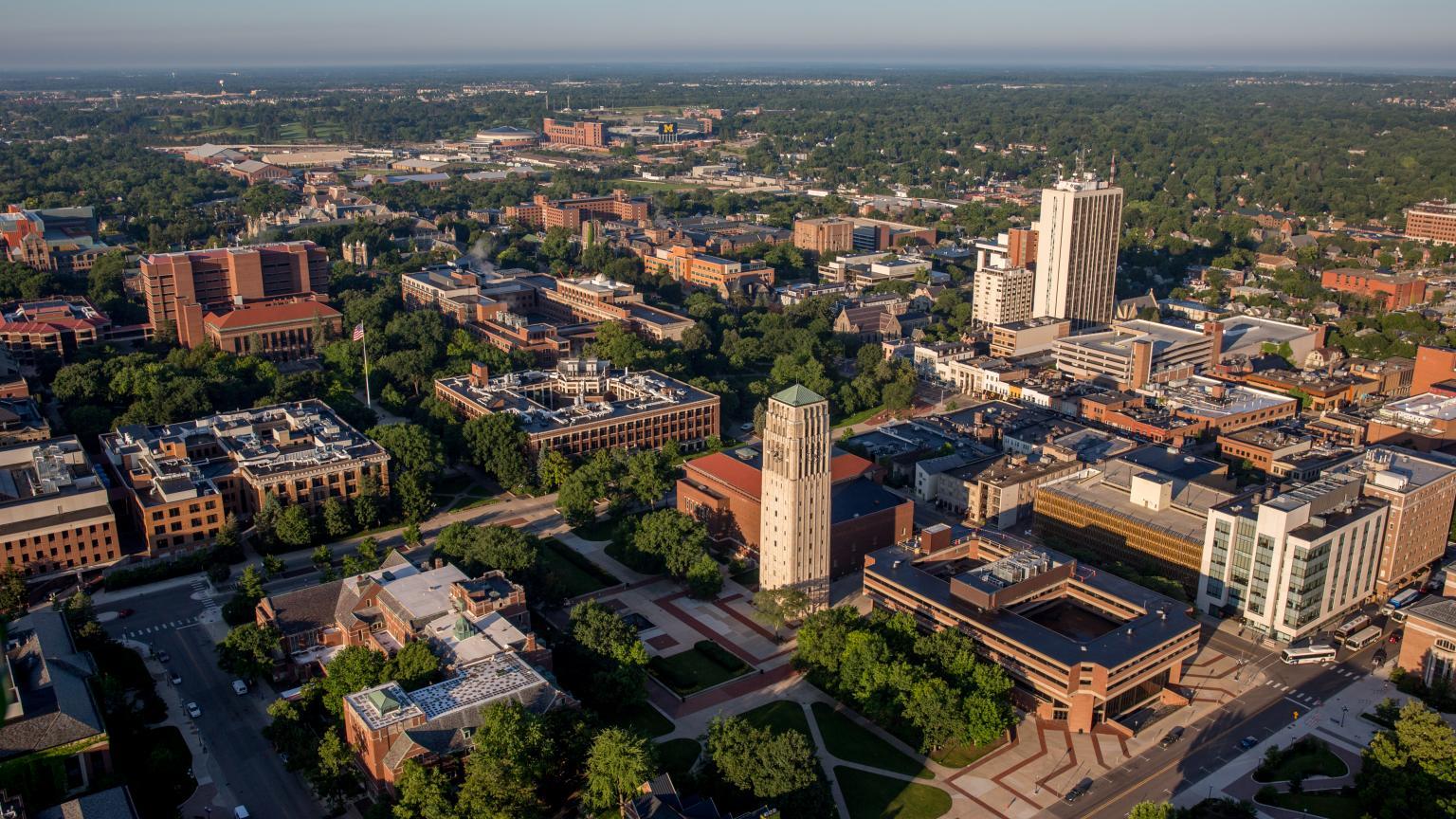 Centeral Campus Aerial
