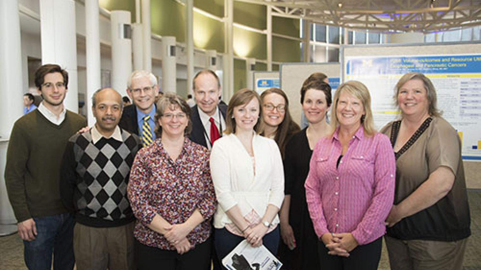 Dr. Wakefield and Dr. Henke and conference participants