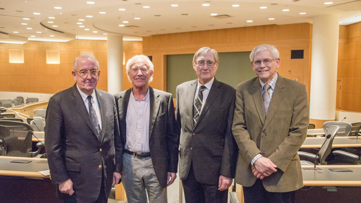 Vascular surgery emeritus faculty and Dr. Wakefield at Berguer symposium