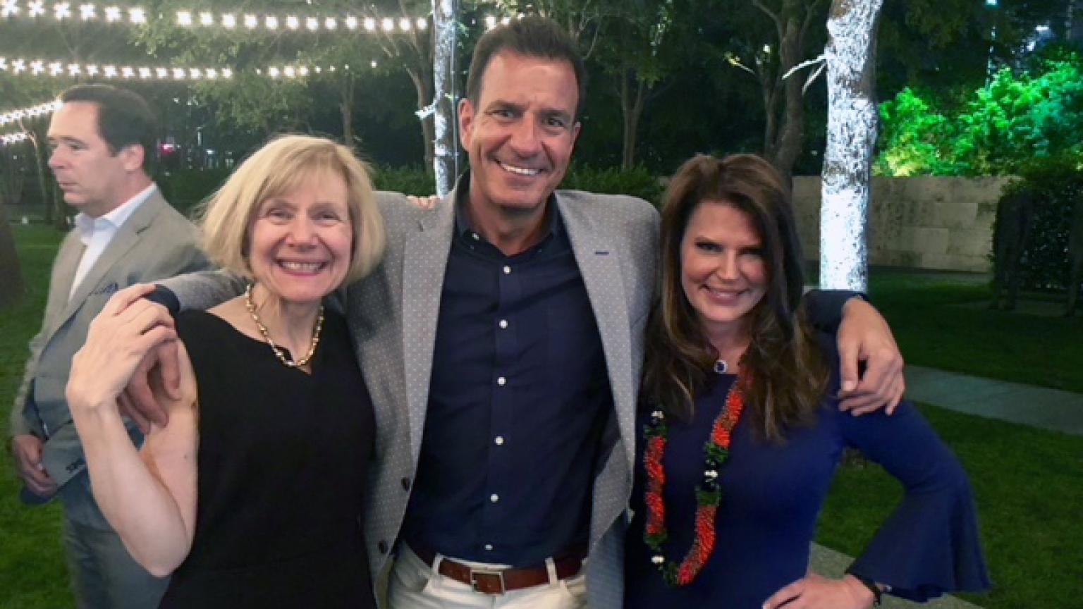 Dr. Eva Feldman, Mike Stein and Tammy Wood