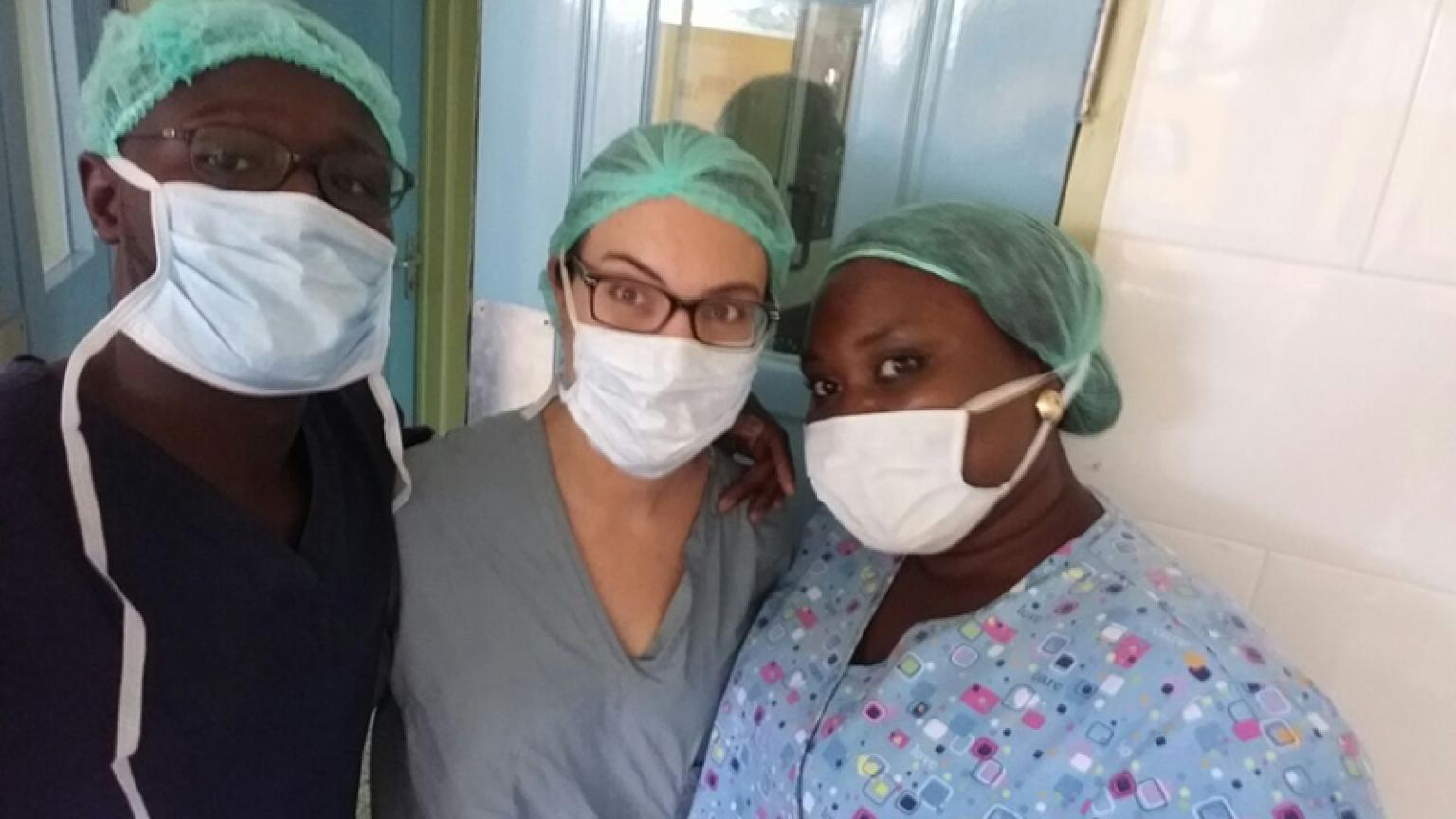 ObGyn residents in Ghana