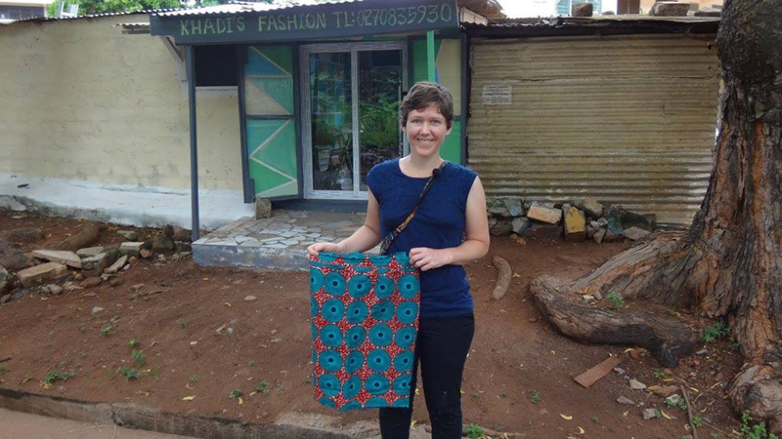 ObGyn resident in Ghana