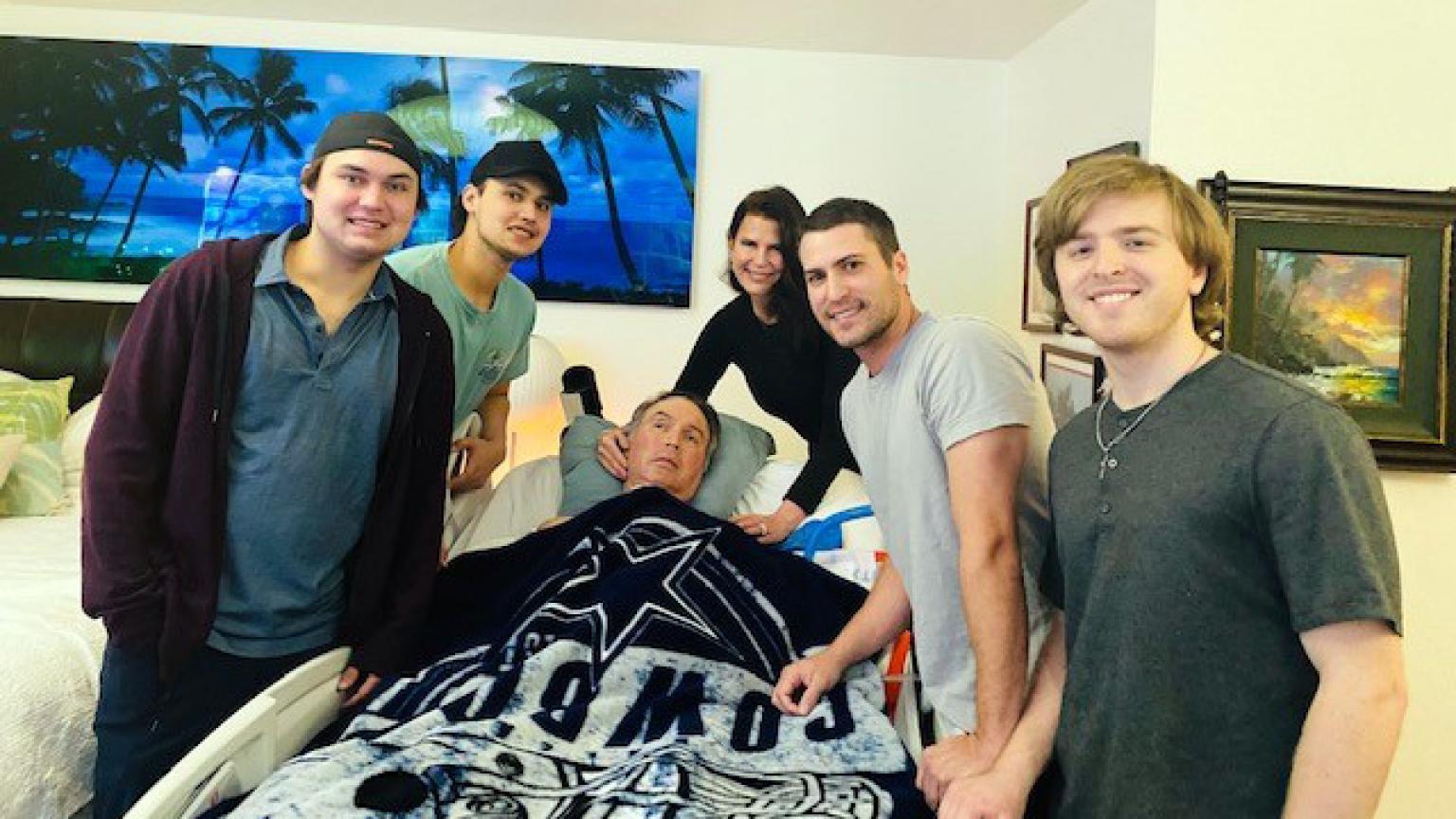 Derek Wood and family