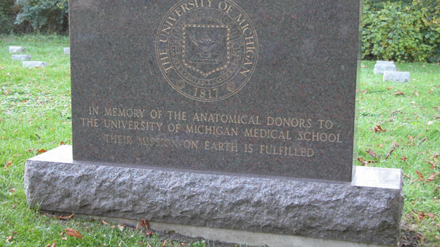 Fairview Cemetery gravestone