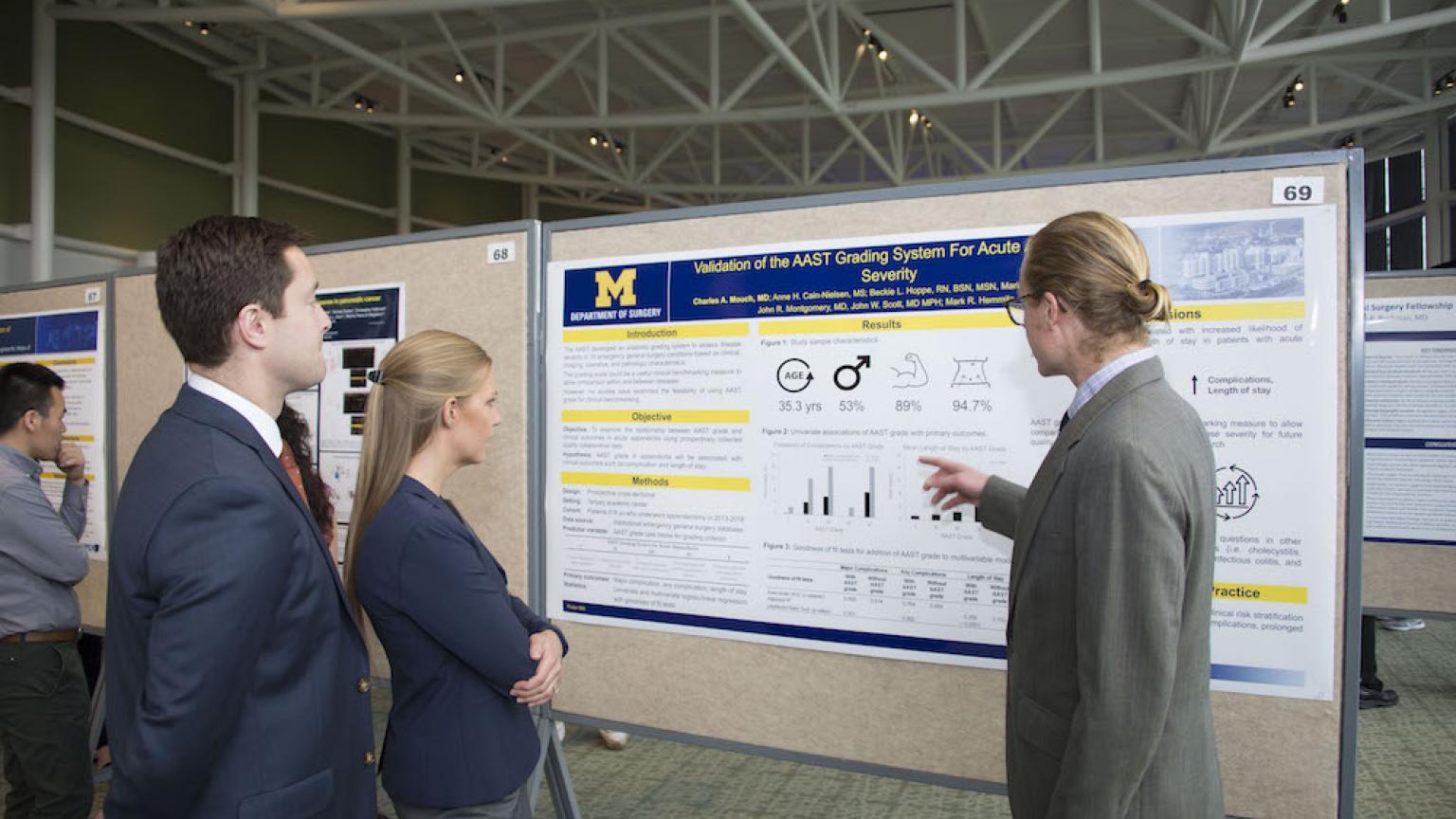Student Poster Presentation at Moses Gunn 2019