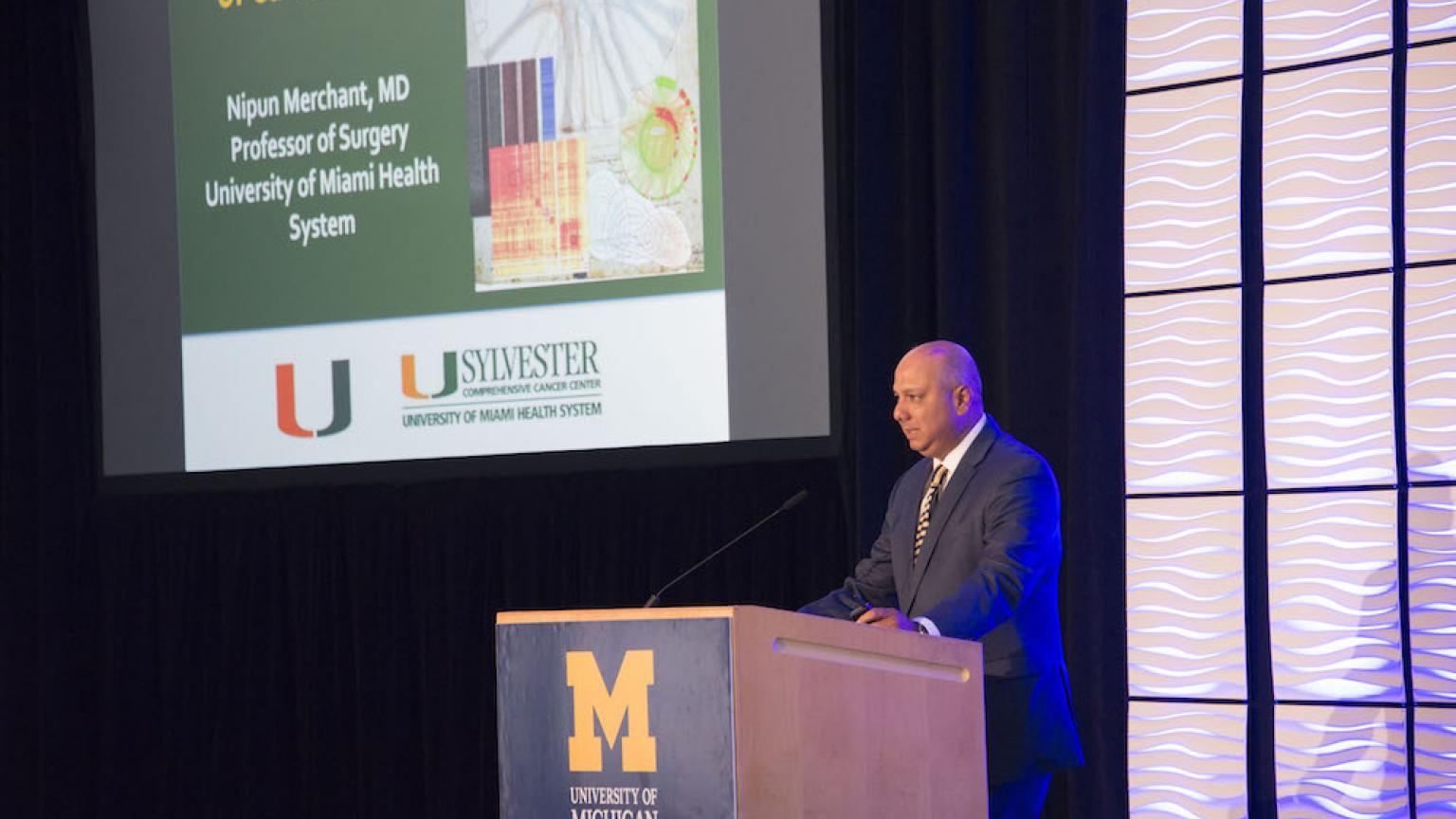 Nipun B. Merchant, MD at Moses Gunn 2019