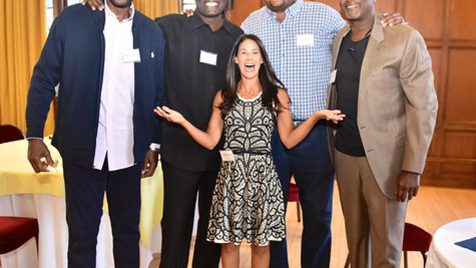 Mark Hughes, Butch Wade, Terry Mills, Richard Rellford, Tracy Wolfson