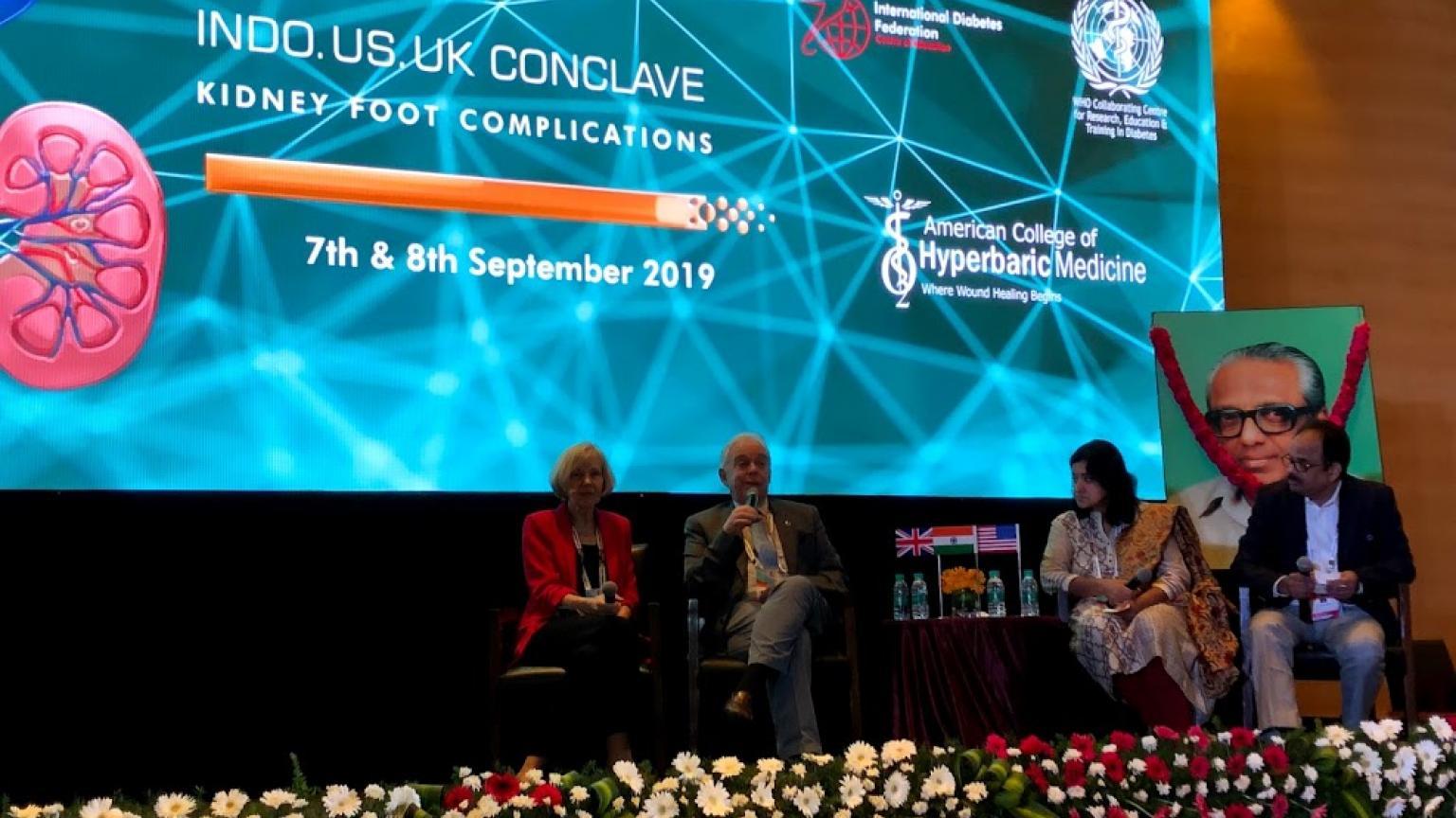Dr. Feldman Keynote Speaker at 2019 Indo U.S. U.K. Conclave
