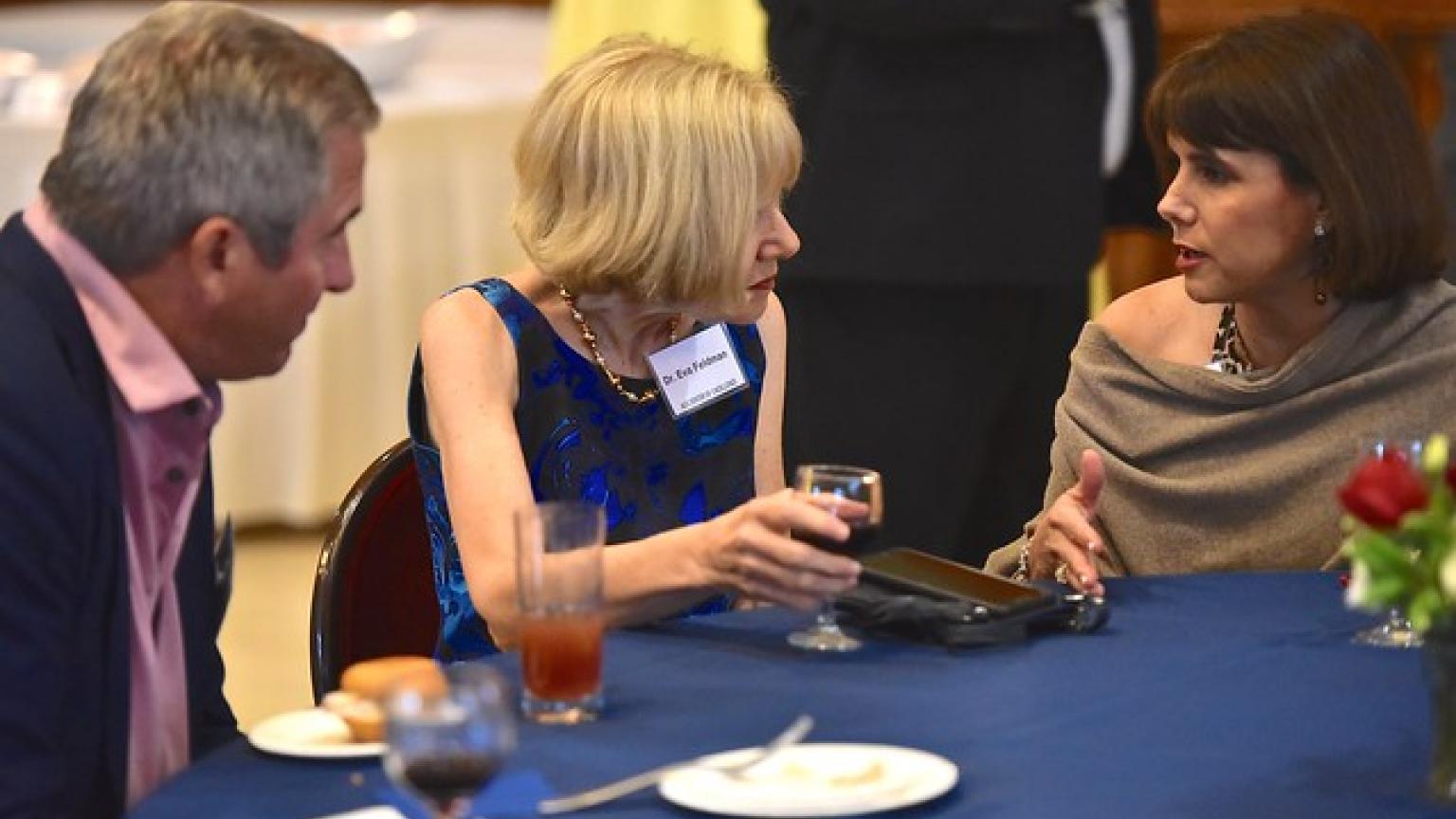 Scott Pranger, Dr. Eva Feldman and Ronnette Coleman