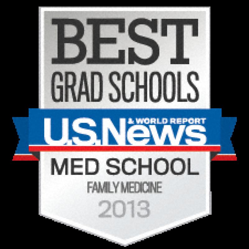 Seal - Best Graduate Schools Family Medicine - 2013