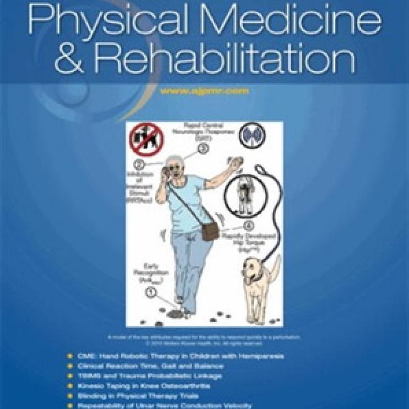 American Journal of PM&R Cover